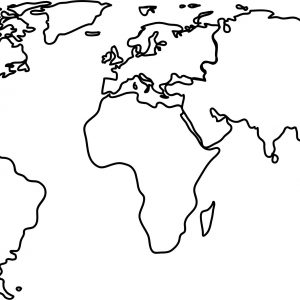 300x300 World Map Black And White Picture Archives