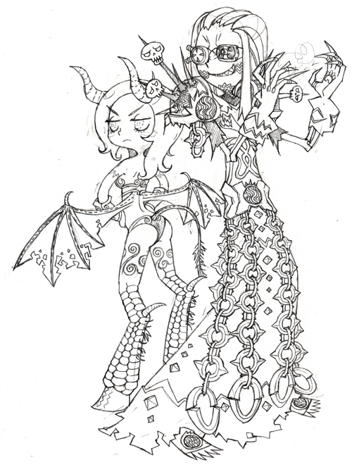 500x663 World Warcraft Drawings Here Are Some The Best World