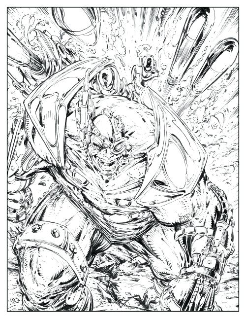500x647 Unique Spawn Coloring Pages Best Of Comic Book Also Software And