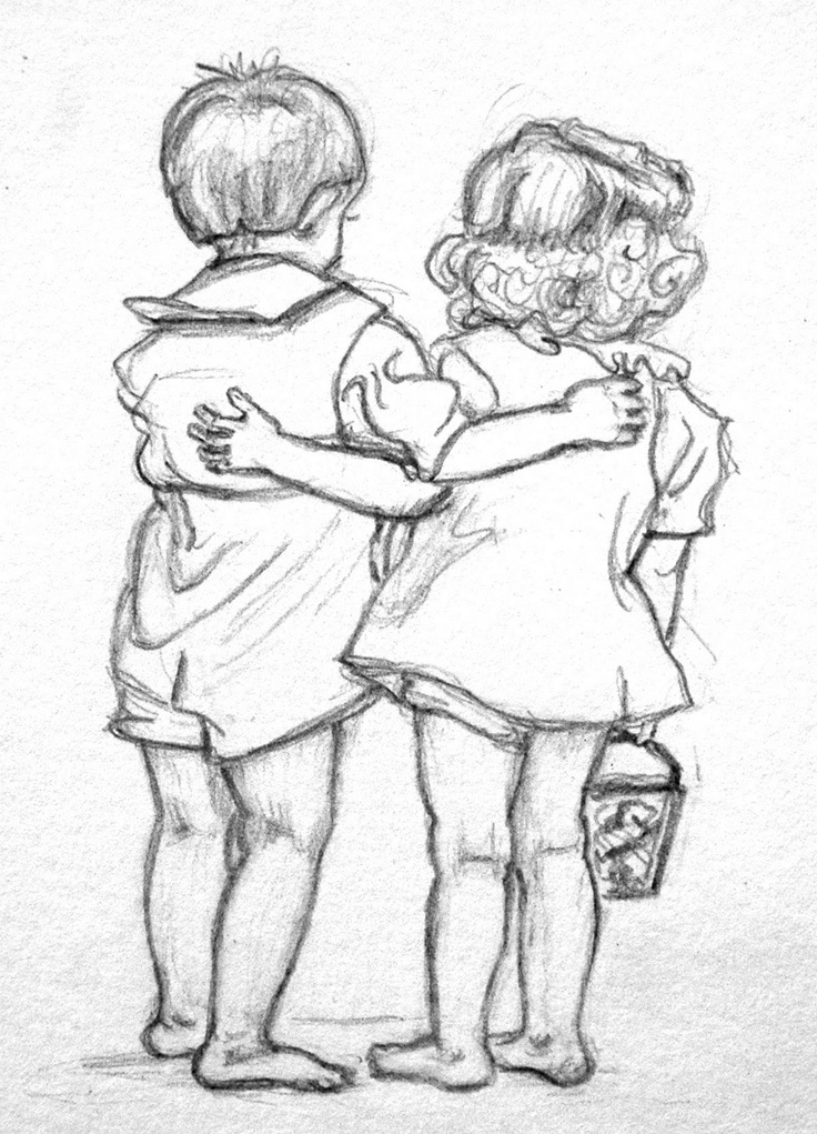 736x1021 pictures pencil drawing sketch friends