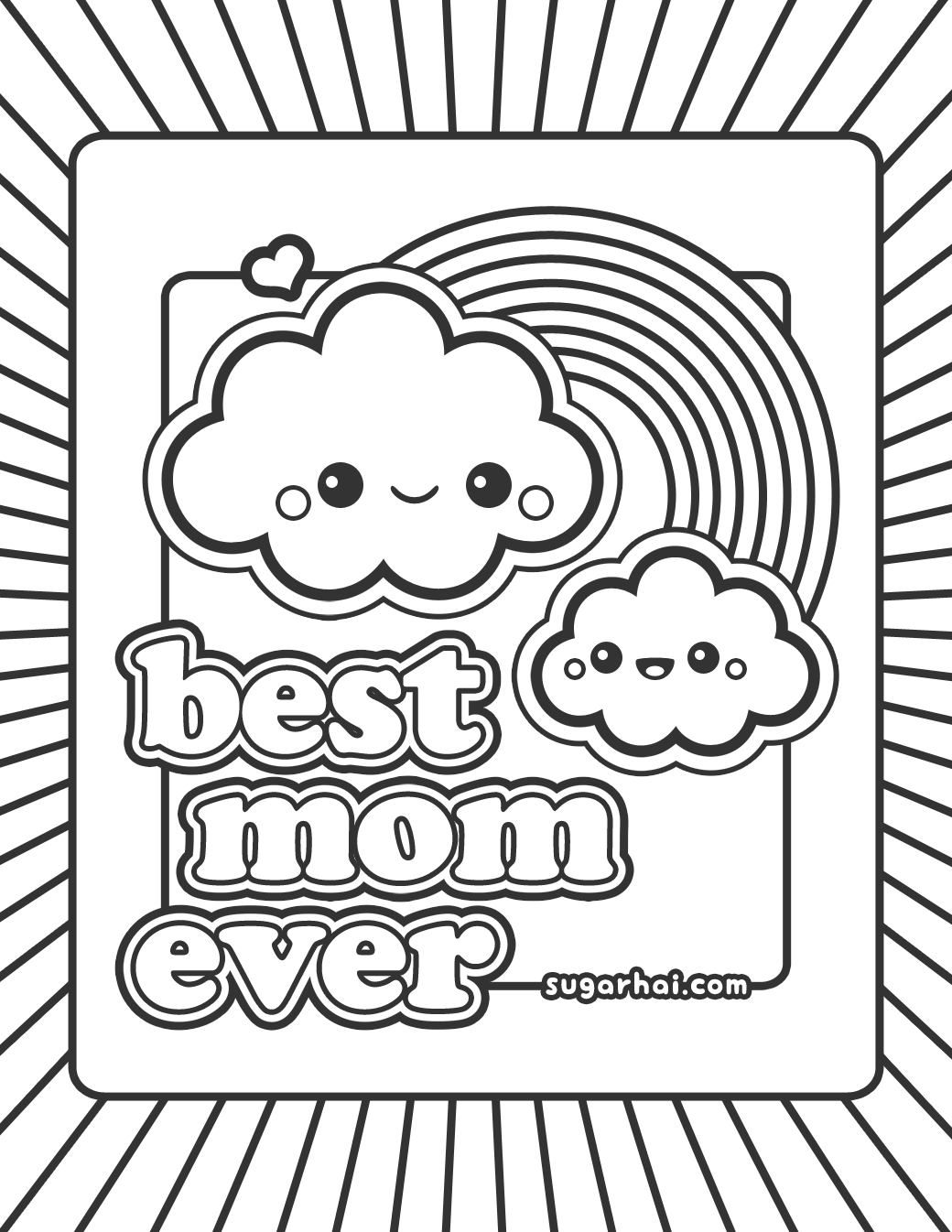 Best Mom Drawing