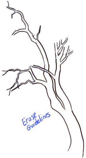 277x510 11 Best Trees Images On Tree Drawings, Xmas And Canvases