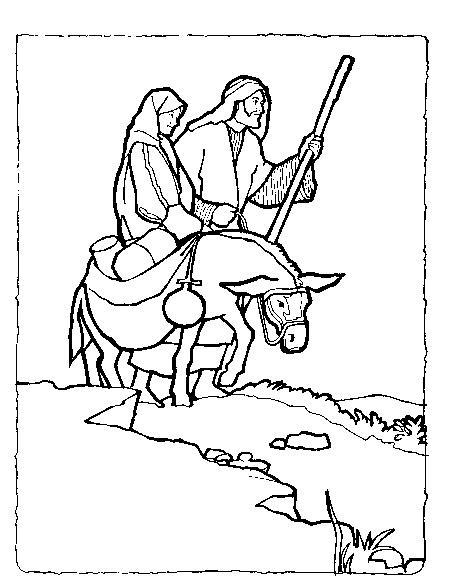 457x581 Mary And Joseph Travel To Bethlehem Travel To Bethlehem