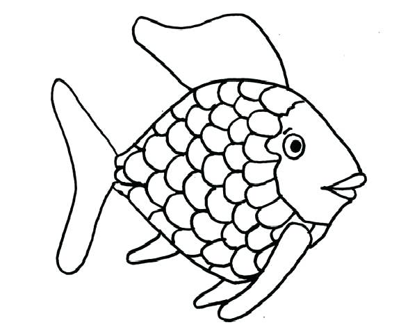 600x468 Betta Fish Coloring Pages Free Rainbow Page Top With Book On Cute