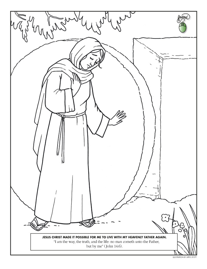 Bible cartoon drawing at getdrawings free for personal use 694x902 coloring page liahona april 2009 f16 altavistaventures Gallery