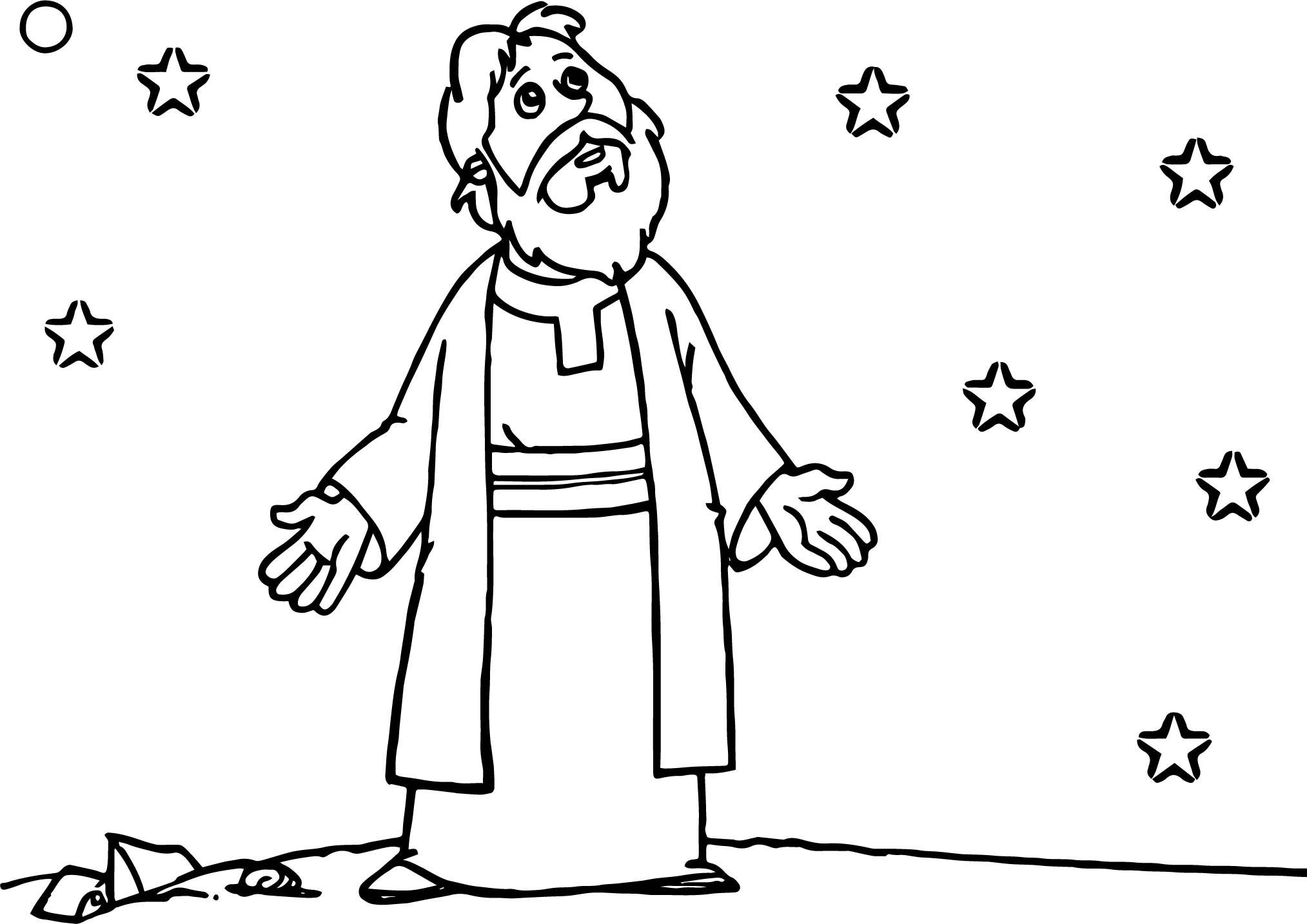 Bible cartoon drawing at free for for Bible character coloring pages