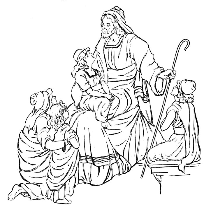 Bible Stories Drawing at GetDrawings