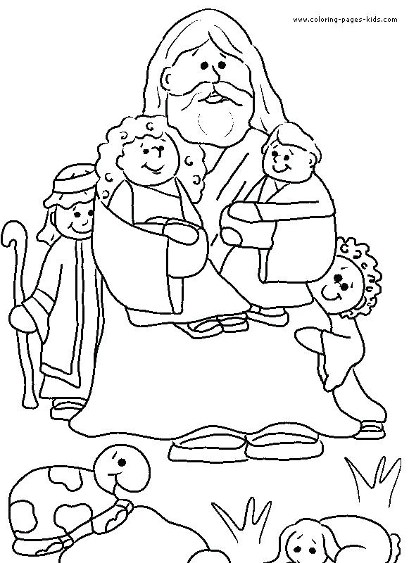 581x800 Ideal Bible Story Coloring Pages Print Free Printable Christian