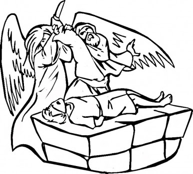 387x350 Wallpaper Interesting Bible Story Abraham Coloring Pages For Drawing
