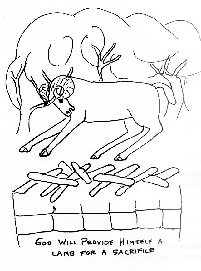 644x867 Bible Story Coloring Page For Abraham And Isaac Free Bible