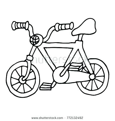 450x470 Bicycle Coloring Book And Bicycle Coloring Book In Addition