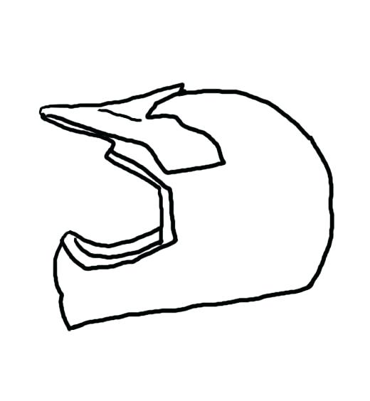 Bicycle Helmet Drawing at GetDrawings.com | Free for personal use ...