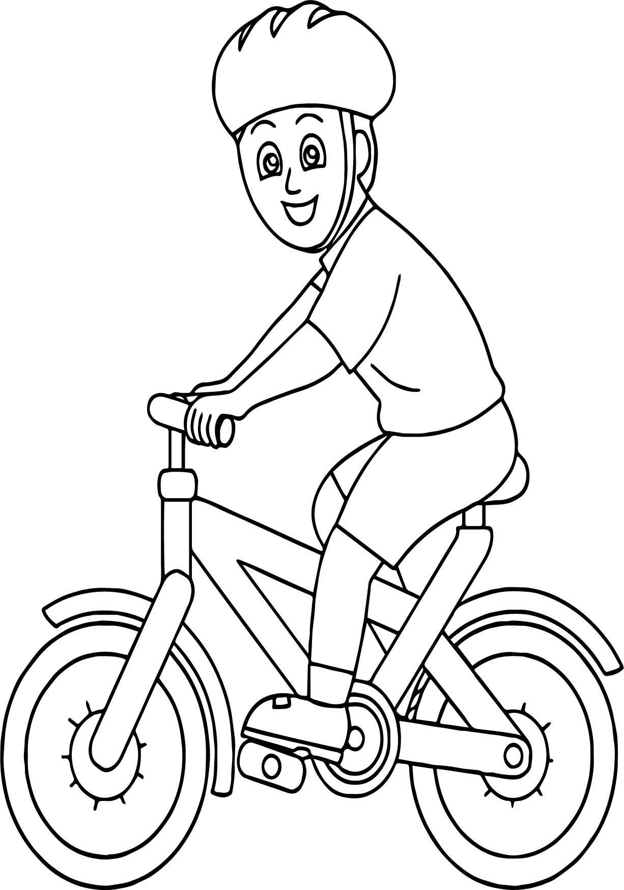 1226x1749 Bike Coloring Page Free Draw To Color