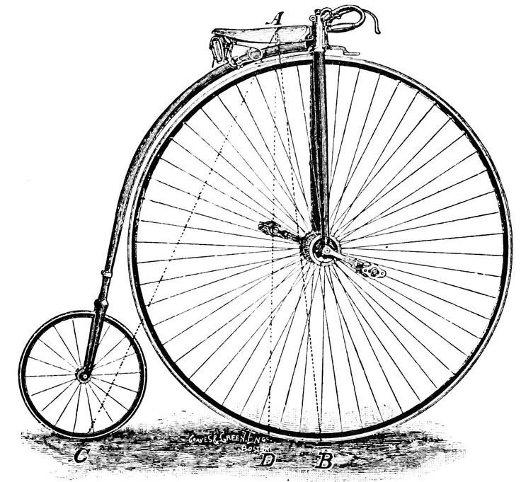 Bicycle Pencil Drawing