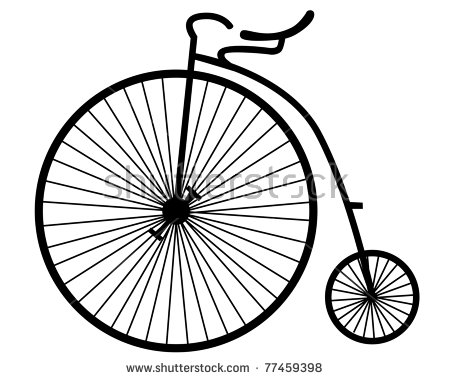 450x380 Bike Clipart Old Thing