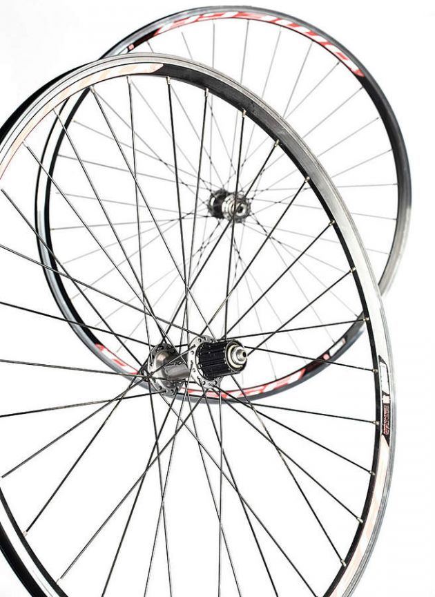 630x864 Road Wheelset Mach 1 Omega Rims On Shimano 105 Hubs Review