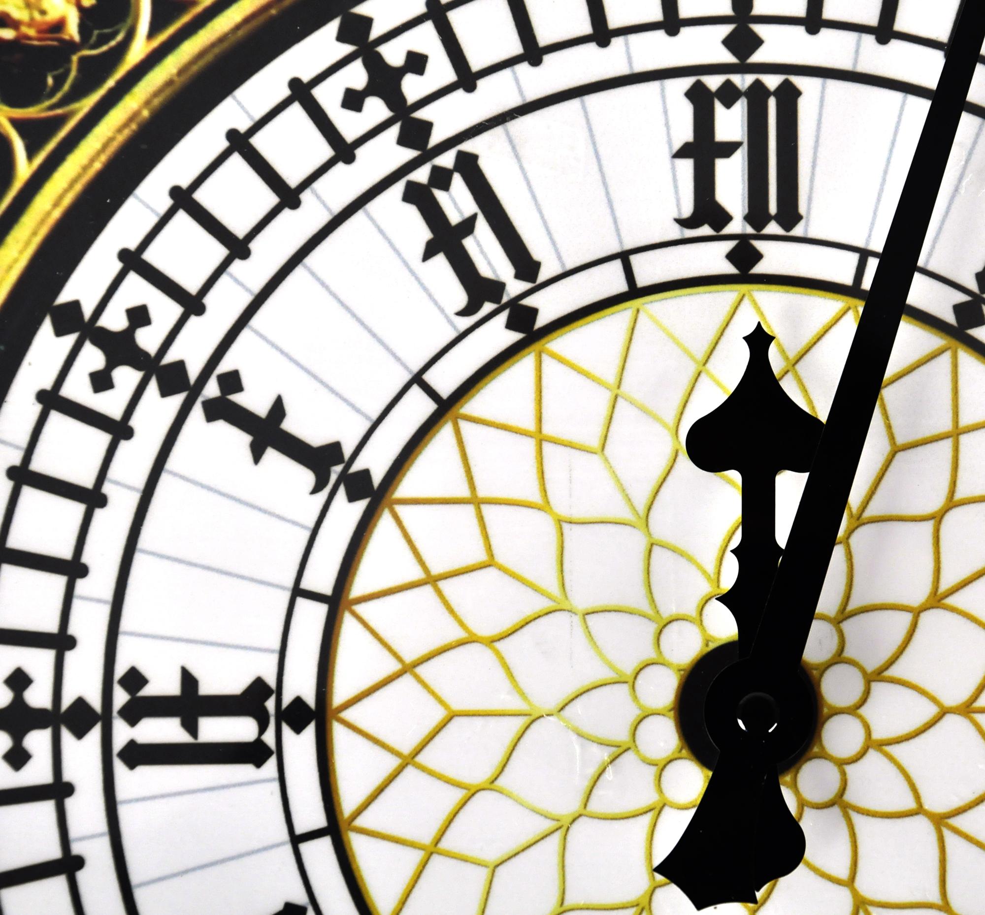 2000x1859 Big Ben Wall Clock Pink Cat Shop