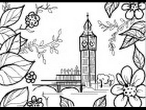480x360 How To Draw The Big Ben In London
