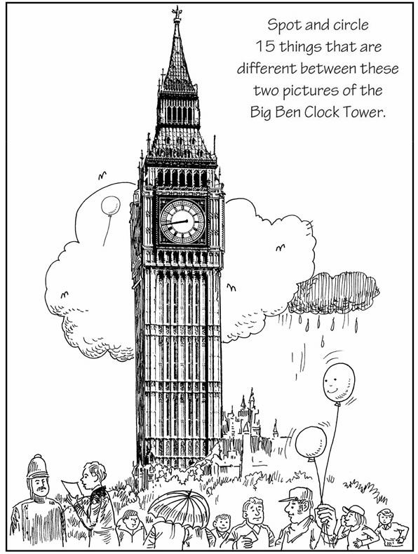 596x790 Spot The Difference Big Ben