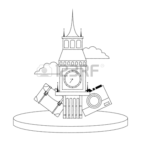450x450 Big Ben Vector Stock Photos. Royalty Free Big Ben Vector Images