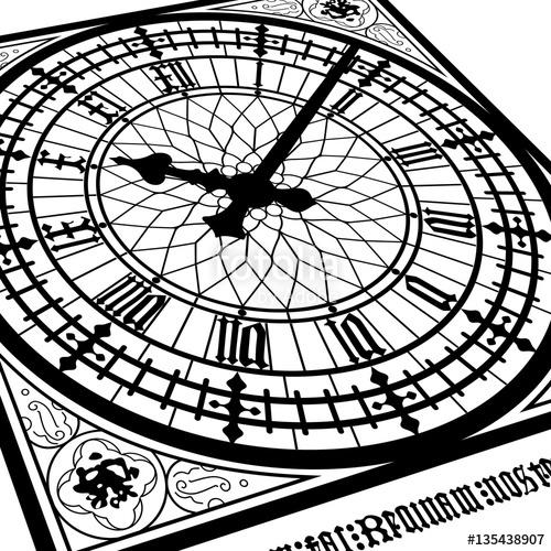 500x500 Big Ben Clock Tower Westminster Display Symbol Icon London Great