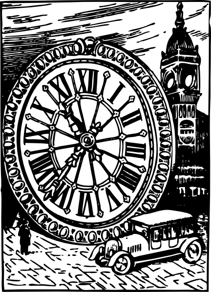 432x599 Size Of Big Ben Clip Art Free Vector 4vector