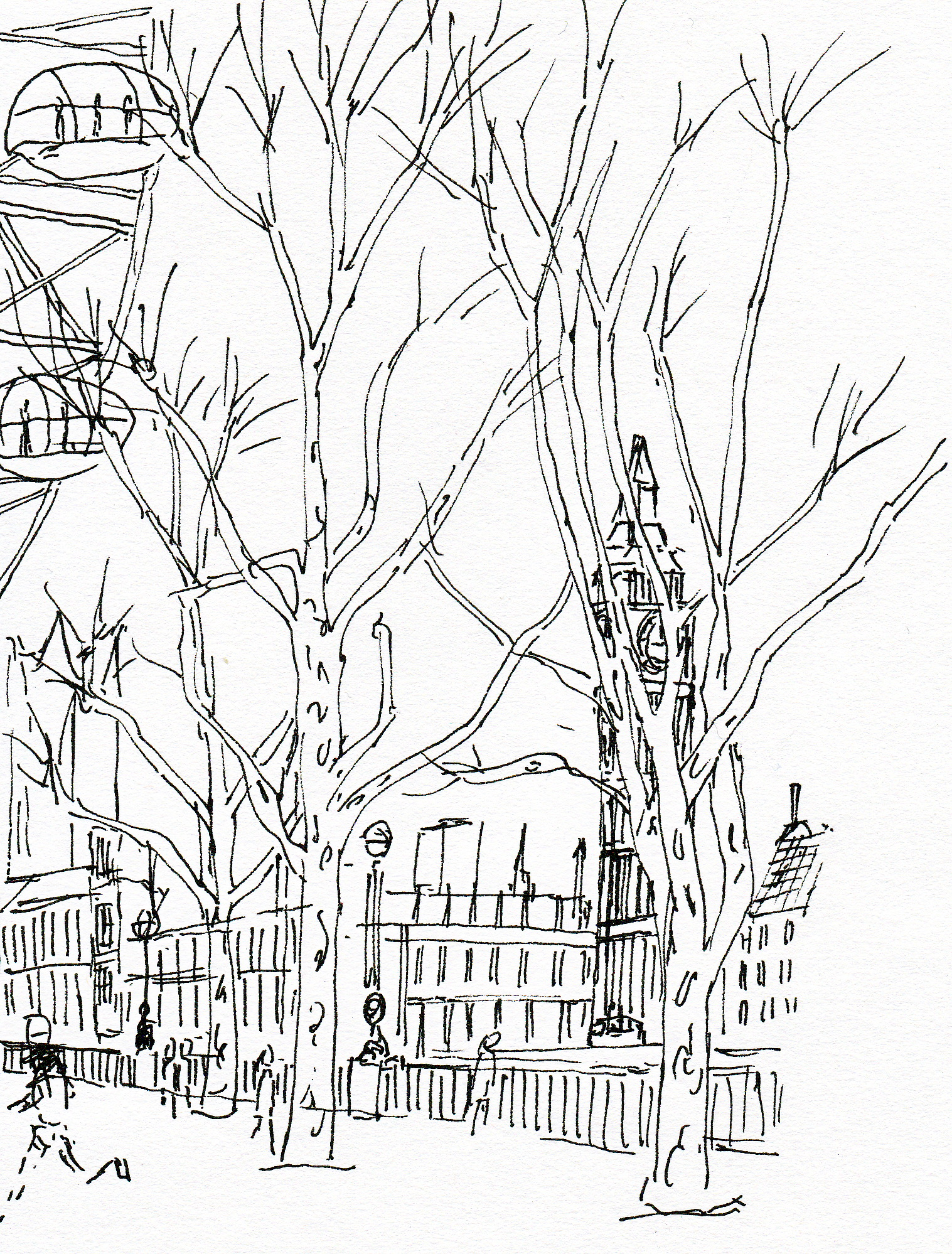 1517x1998 Big Ben, February 2014 London Sketches Big Ben
