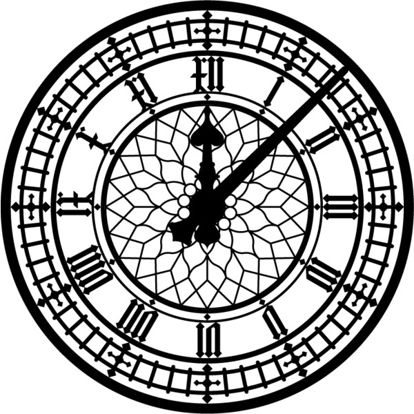 600x600 Graphics Miscellanea Big Ben Clock Face