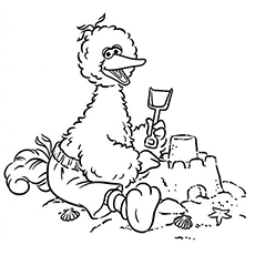 230x230 Top 25 Free Printable Big Bird Coloring Pages Online