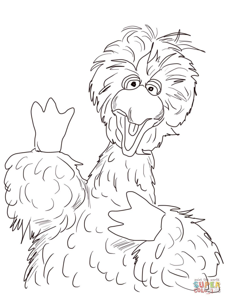 948x1256 Big Bird Coloring Pages With Wallpapers 1080p