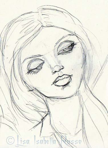379x519 The Finertnd Ramblings Lisa Isabella Russort Sketch