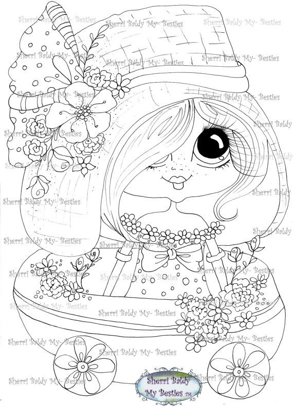 570x793 484 Best Digital Stamps Images On Adult Coloring