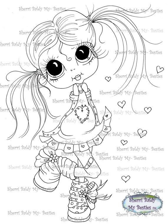 570x762 806 Best Panenky Images On Digi Stamps, Big Eyes
