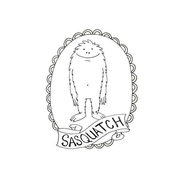 The Best Free Sasquatch Drawing Images  Download From 56 Free Drawings Of Sasquatch At Getdrawings