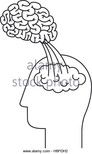 323x540 Brain Head Draw Icon Big Stock Photos Amp Brain Head Draw Icon Big
