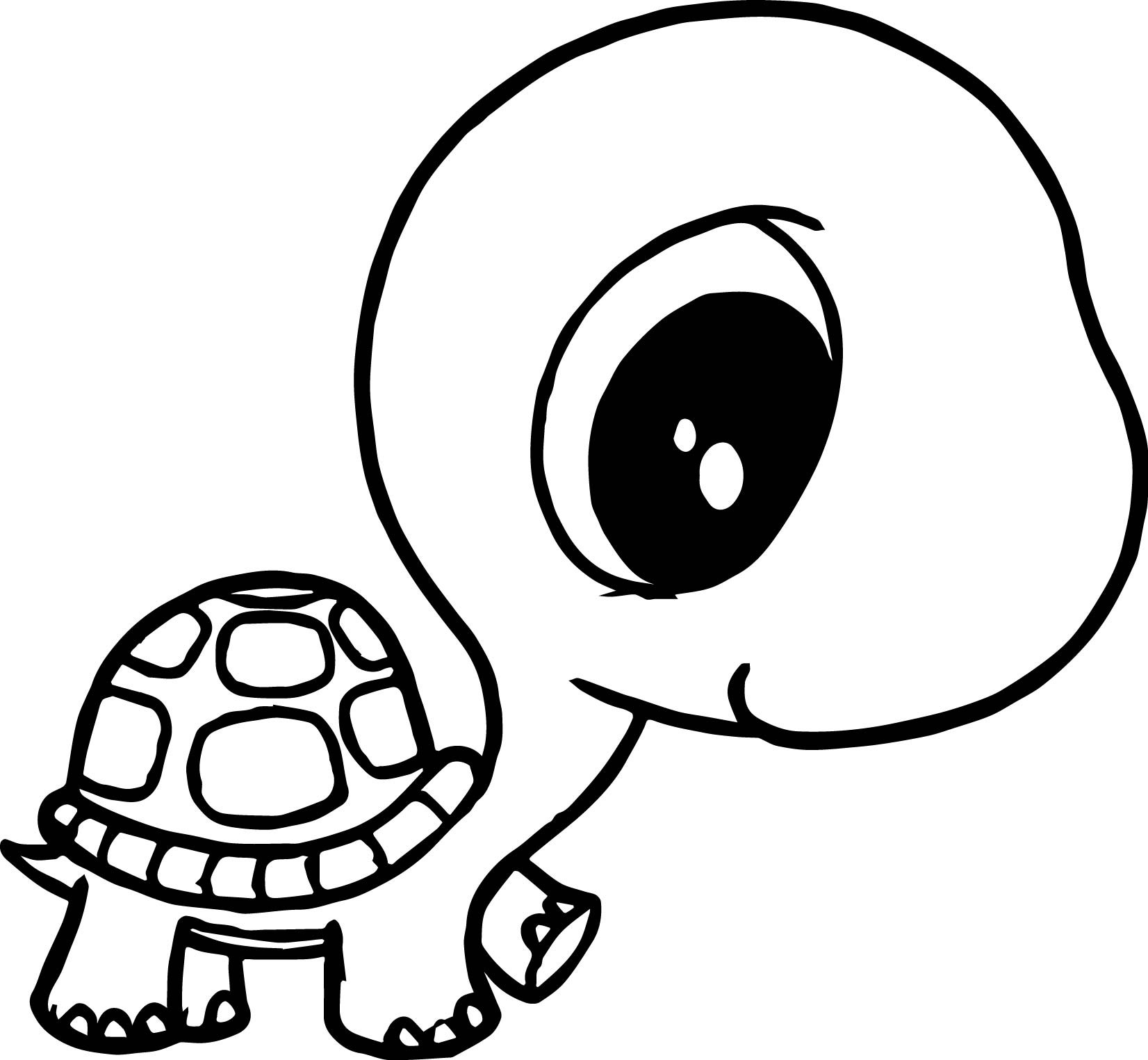 1652x1525 Turtle Coloring Pages Free Draw To Color