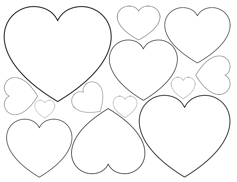 789x608 Super Sized Heart Outline