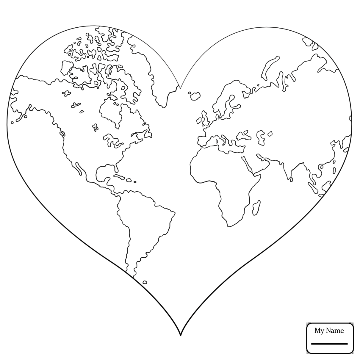1210x1210 Coloring Pages For Kids Big Heart In The Clouds Arts Culture