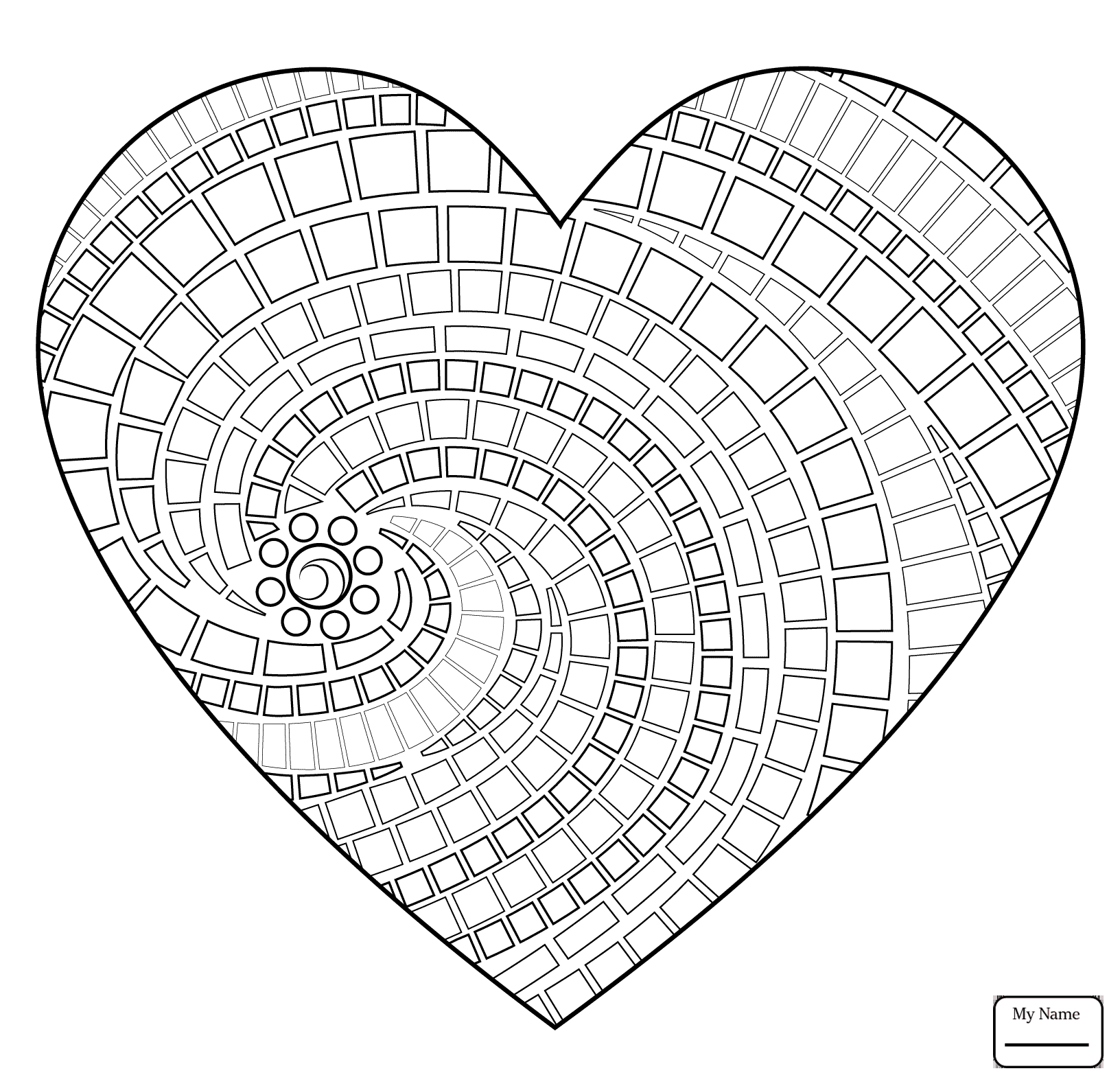 1632x1579 Big Heart In The Clouds Arts Culture Coloring Pages