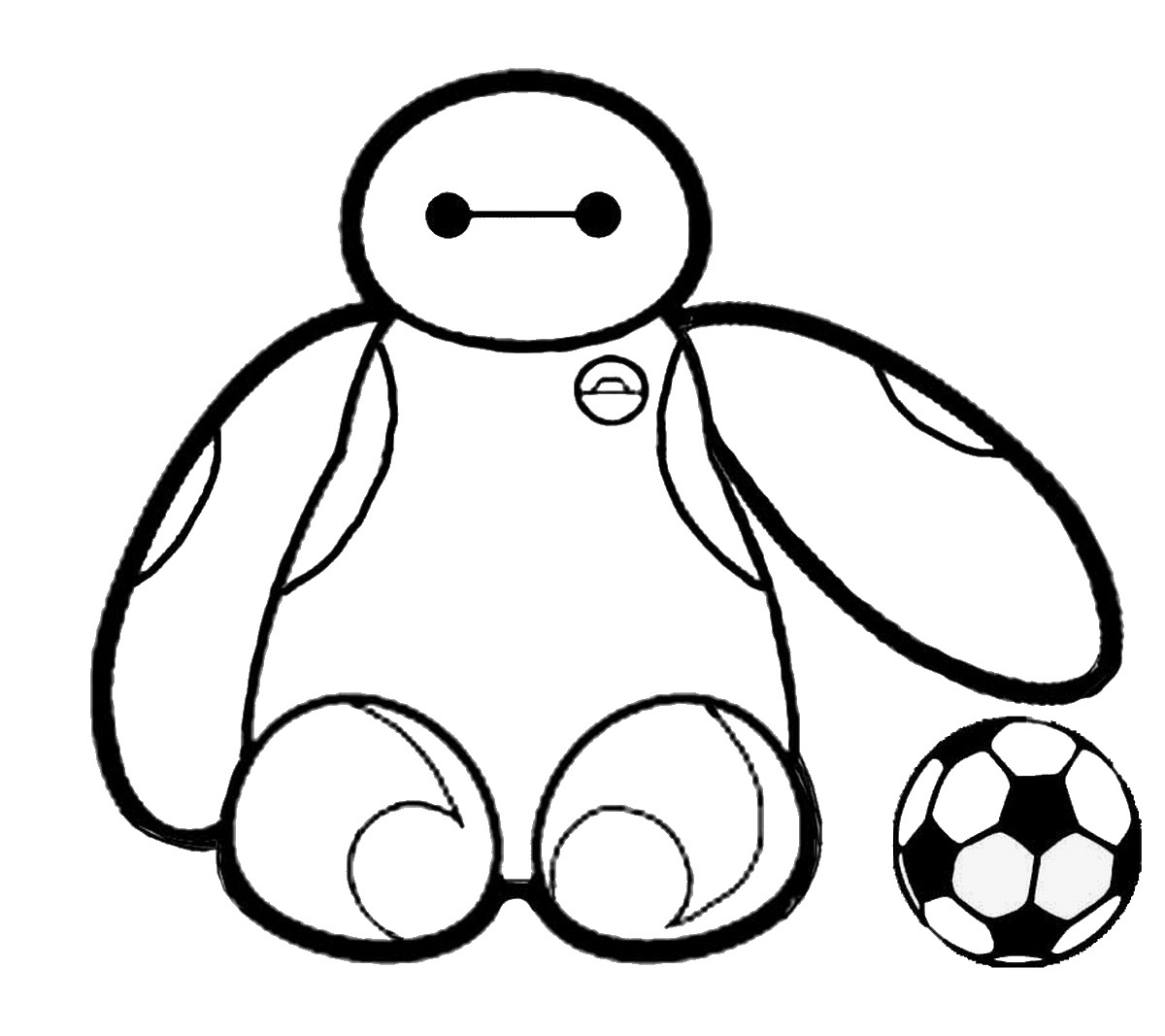 1200x1067 Big Hero 6 Coloring Pages