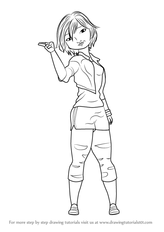 566x800 Learn How To Draw Go Tomago From Big Hero 6