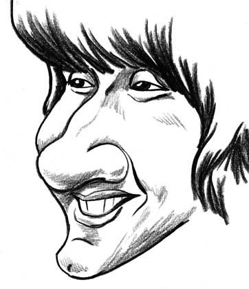 Big Nose Drawing