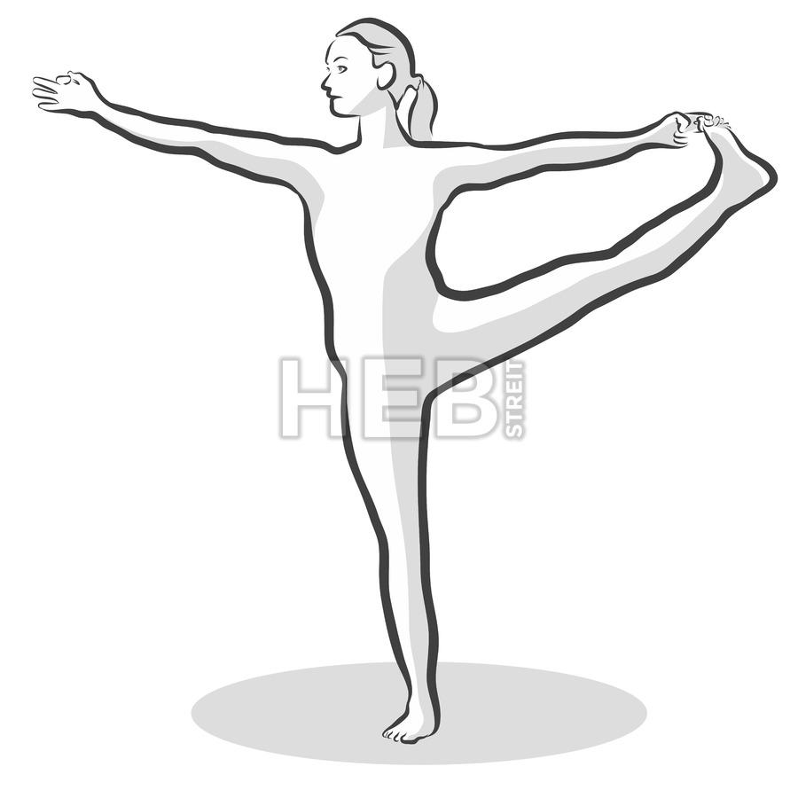 900x900 Extended Hand To Big Toe Utthita Hasta Padangustasana Yoga Pose