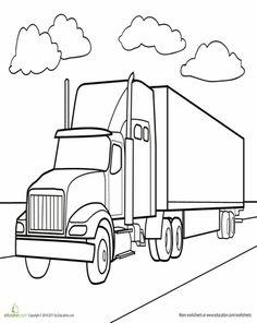 236x296 Semi Truck Drawings Semi1 Clipart And Vectorart Vehicles