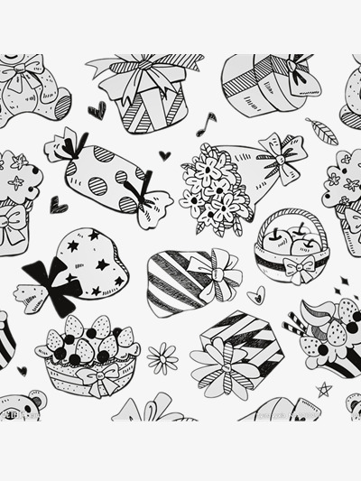 400x533 A Big Wave Gift, Candy, Gift Box, Flowers Png Image For Free Download