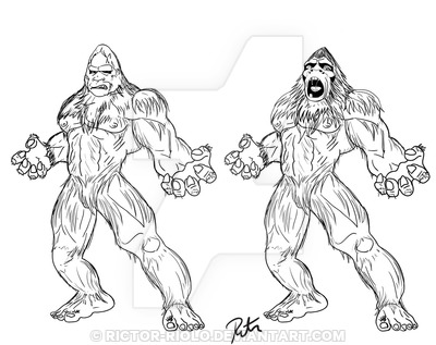 400x317 Finding Bigfoot Squatch By Rictor Riolo