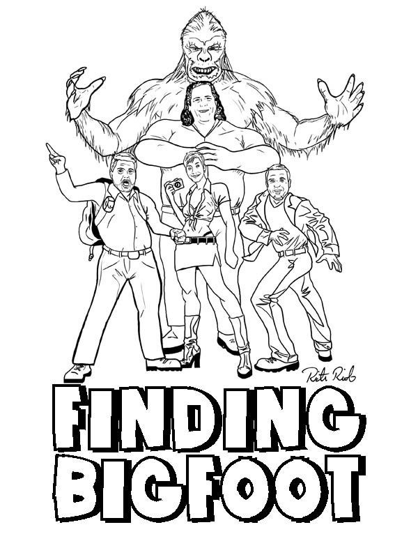 600x776 North American Bigfoot Rictor Riolo's Finding Bigfoot Art