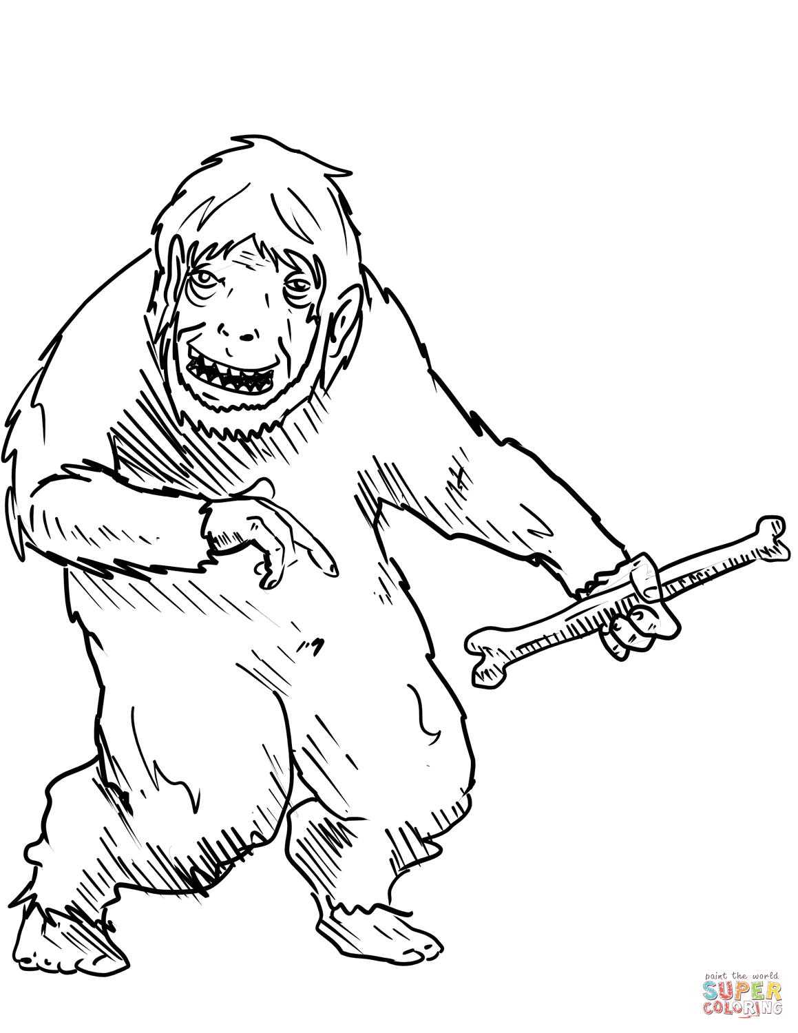 1159x1500 Yeti Amp Bigfoot Coloring Pages Free Coloring Pages