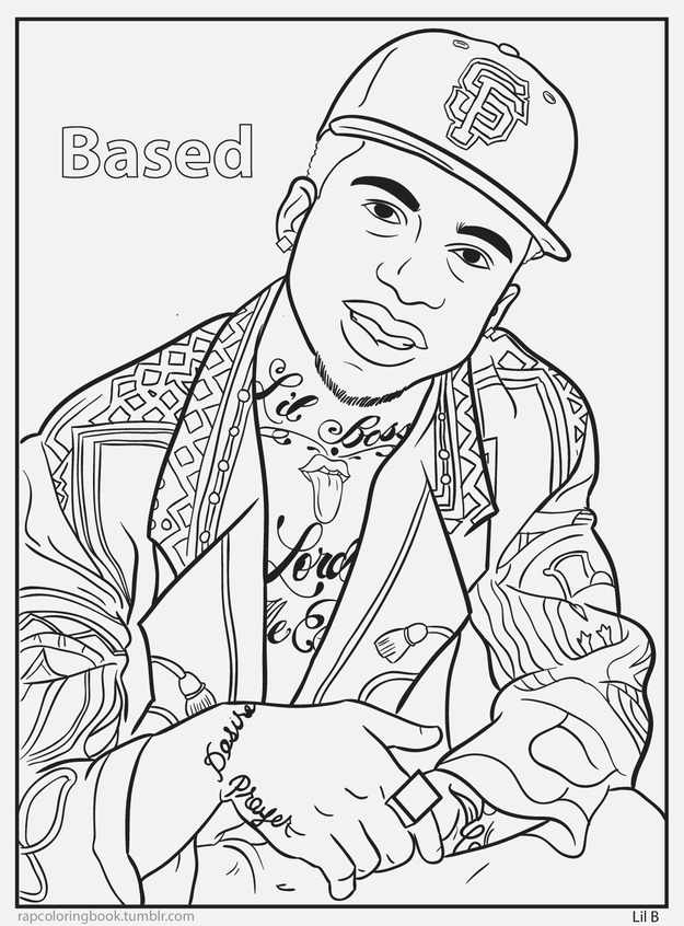 625x846 Tupac Coloring Pages