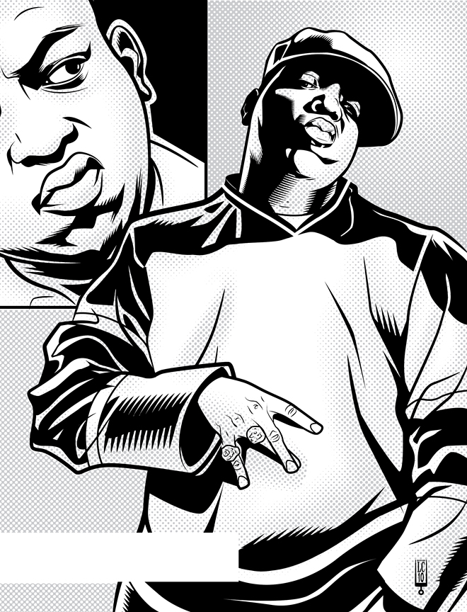 660x864 Biggie 2 By Lawrencechristmas